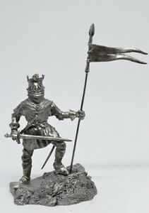 Tin-soldier-figure-English-prince-54-mm