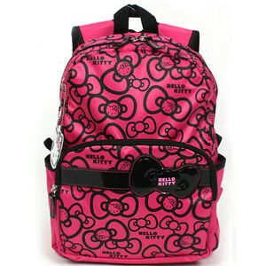 7a9851ef28 Image is loading Sanrio-Hello-Kitty-Brand-New-School-Bag-Backpack-
