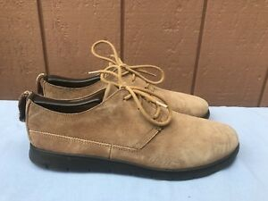 8a5004f2c42 Details about EUC UGG 1006692 BOWMORE ULTRALIGHT OXFORDS SNEAKER BROWN  SUEDE US SIZE 9