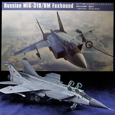 HOBBY BOSS 1/48 RUSSIAN MIG-31B/BM FOXHOUND KIT 81754 OVER 300PC ON 30 SPRUE
