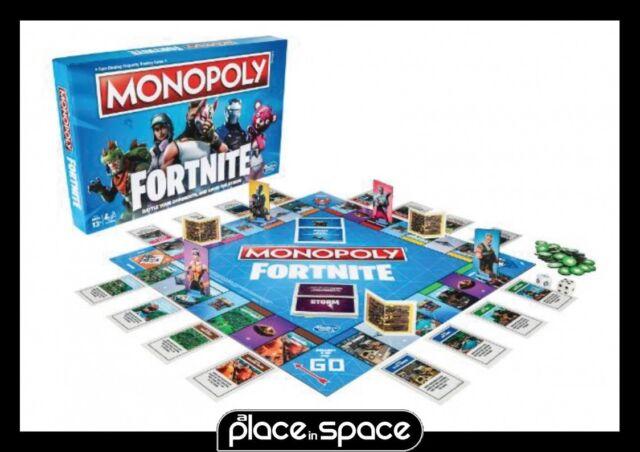 Fortnite monopoly board