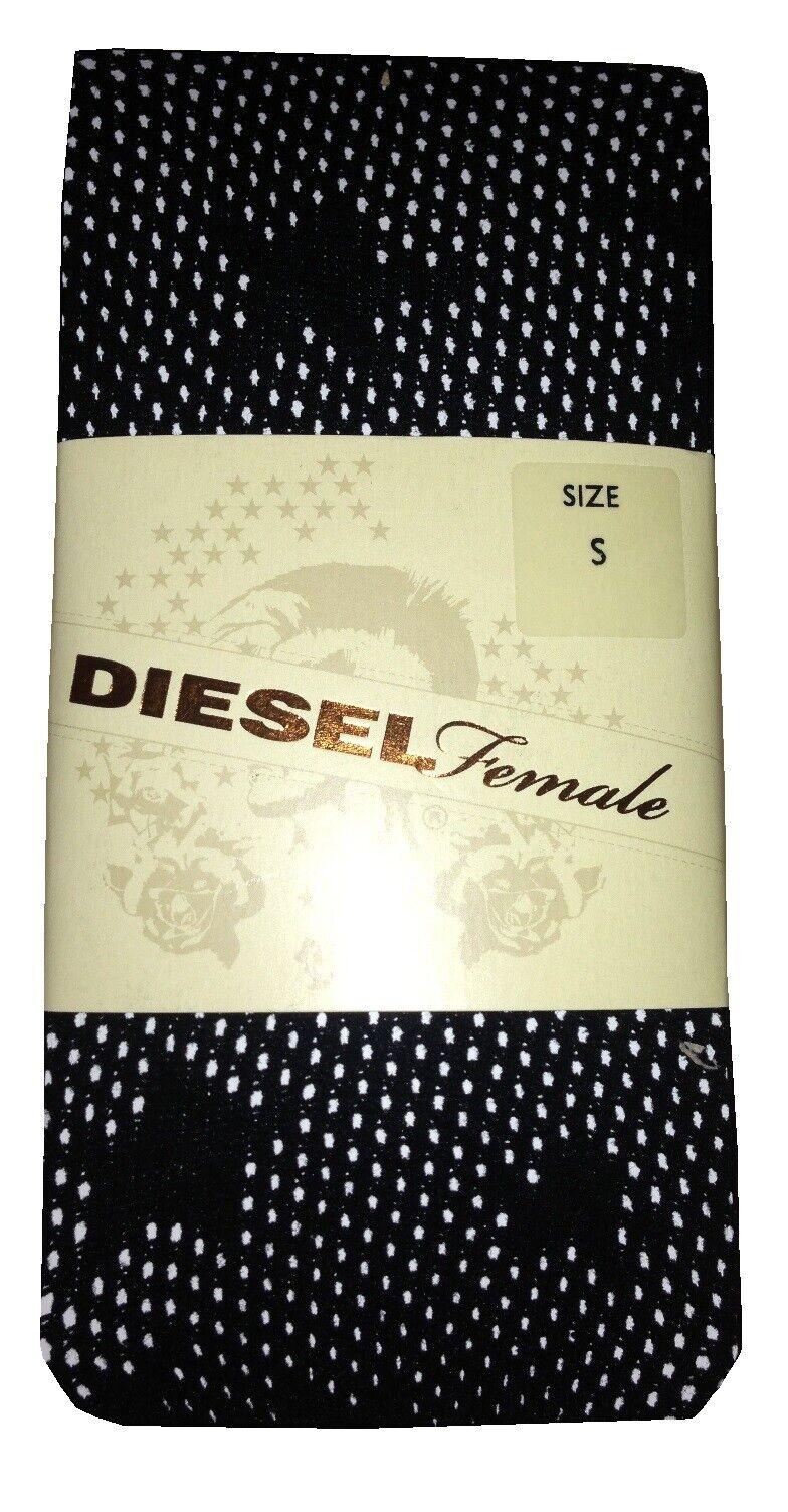 2 Paar Diesel Damen Strumpfhose. Farbe Schwarz,Gr,M