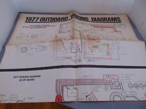 1977 Evinrude Outboard Wiring Diagram 25/35/55/70/75 HP | eBay