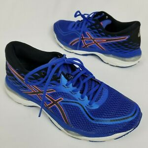 Asics Gel Cumulus 19 Womens Size 11 Running scarpa Blue White and Orange T7B8N | eBay
