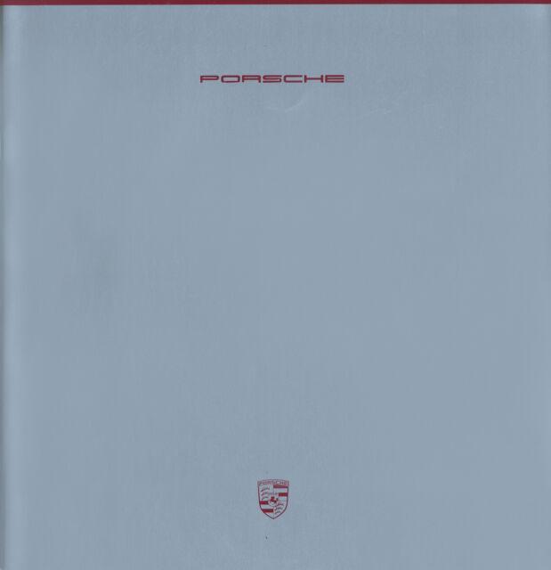 Porsche Prospekt 1988 7/88 NL brochure catalog 928 S4 911 Turbo 944 S2 Cabriolet