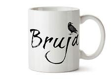 Bruja Witch New Coffee Tea Mug 11 oz The Raven Dark Light Worker Wiccan Gift