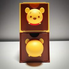 SILVER CRANE Collectible Teddy Bear Tin Storage Box TEDDY IN CAR  Red