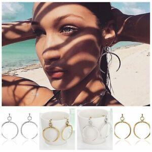 Women-Alloy-Geometric-Hoop-Crescent-Moon-Ear-Stud-Earrings-Bohemian-Jewelry