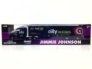 Jimmie-Johnson-48-NASCAR-Authentics-ally-2019-Hendrick-1-64-Die-Cast-Hauler