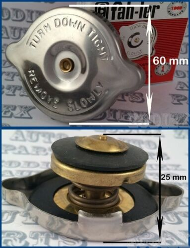 Stainless Steel Radiator Rad Cap 15LBS psi