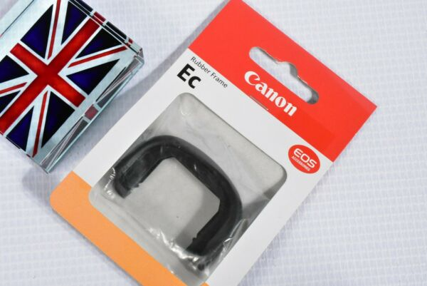 100% Genuine Canon Ec Rubber Frame For Eos 1d Mkii Mkii N & 1ds Mkii Utilisation Durable