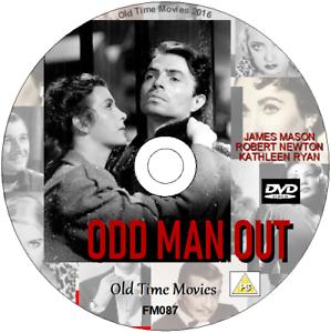 ODD-MAN-OUT-James-Mason-Robert-Newton-Kathleen-Ryan-CLASSIC-DVD-1947
