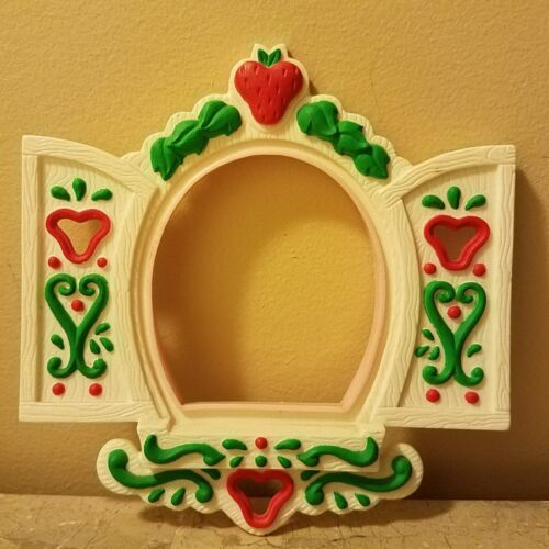 Vintage Strawberry Shortcake Berry Happy Home Replacement Part ~  Window