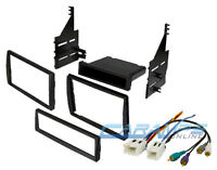 Single Or Double Din Car Stereo Cd Player Dash Installation Kit & Wiring Harness on sale