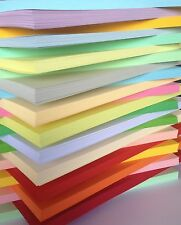 50 Hoja Cartulina A4 170gsm paquete Surtidos elegir entre 25 colores scrapbooking