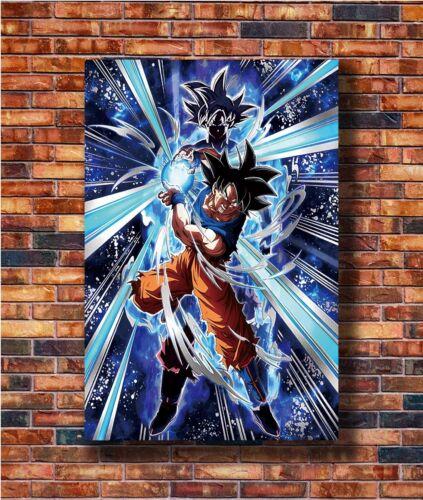 Hot Gift C677 Art Dargon Ball Super Ultra Instinct Goku Japan Anime Poster