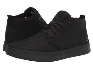80dd374110e Details about Men's Shoes Timberland DAVIS SQUARE Mixed Media Chukka  Sneakers TB0A1T16 BLACK
