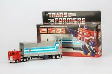 Transformer G1 Optimus prime reissue Mint car metal front enhanced package