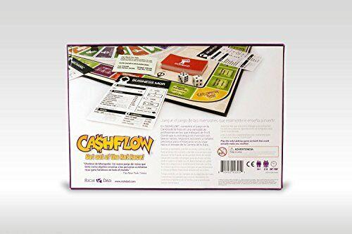 CASHFLOW in SPANISH - Rich Dad Investing Board Game by Robert Kiyosaki - Newest