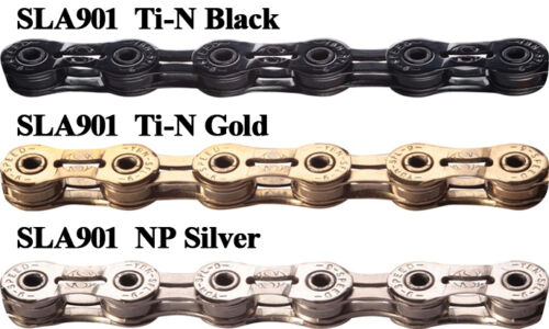 Gold New YBN SLA-901 9 Speed Chain Bicycle Fit Shimano Sram /& Campangnolo