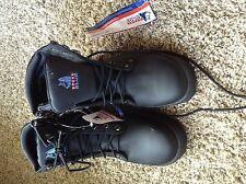 Australian Steel Blue Argyle Boots - NWT Size 7