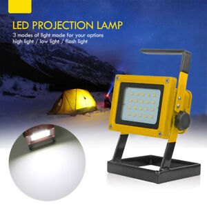 Brillant-30W-Projecteur-LED-Lumiere-Exterieur-Rechargeable-Lampe-de-Chantier