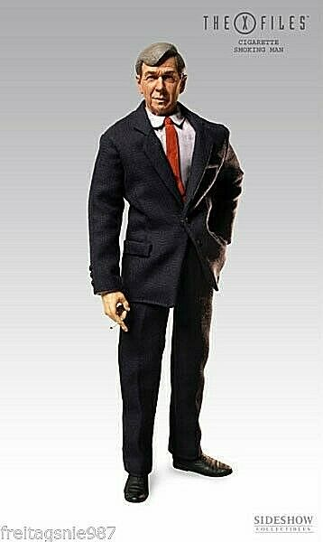 X-FILES CIGARETTE SMOKING homme  30cm collector-figure ltd 4000 by Sideshow  offres de vente