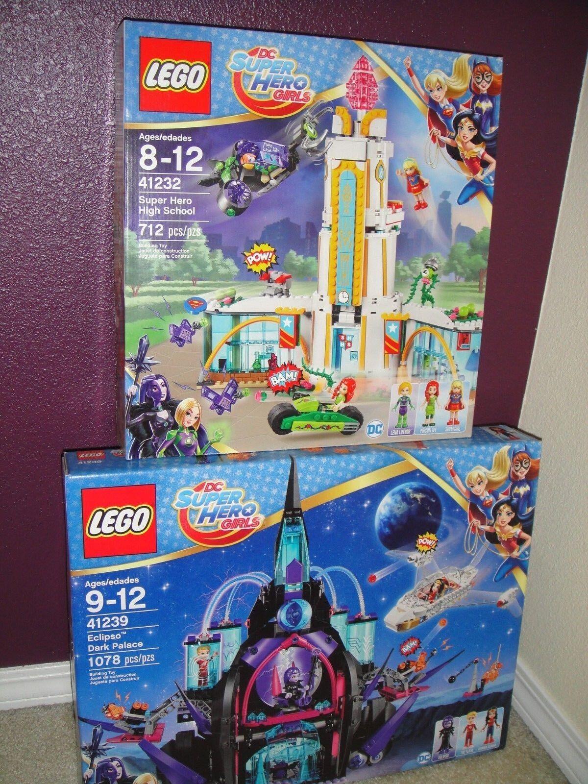 NEW Lego 41232 41239 DC Super Hero Girls High School Eclipso Dark Palace Sets