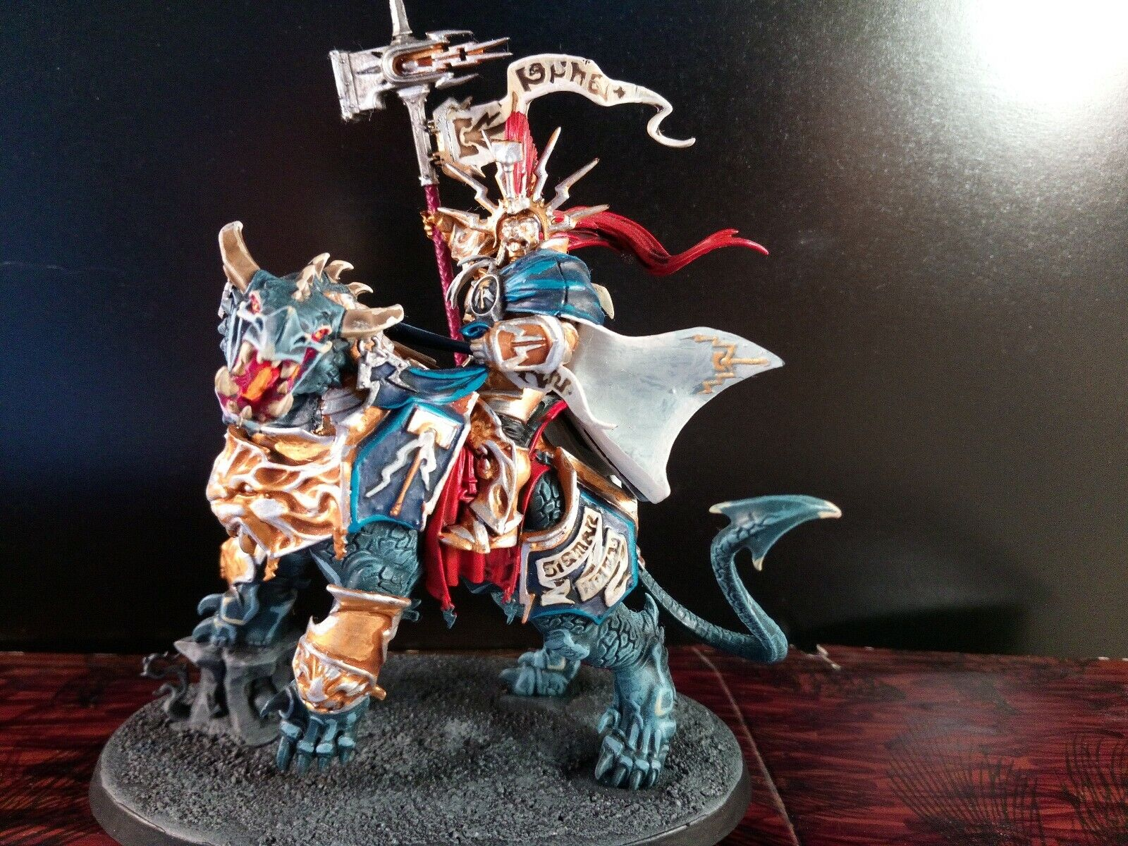 A35 Warhammer Age  of Sigmar LORD CELESTANT ON DRACOTH Stormcast plastica  Miglior prezzo