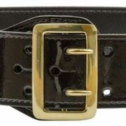 Choice of Buckle Sizes 36-48 Basket Weave or Plain Sam Browne Duty Belts
