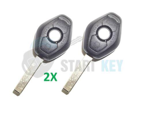 2X BMW Fernbedienung Schlüssel Gehäuse E31 E32 E38 E39 Z3 Z8 E36 E34 E46 HU92