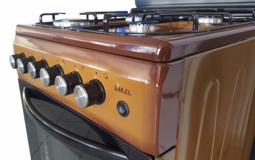 Cucina con forno metano o gpl 4 fuochi vetro valvolati 50x50 grill elettrico