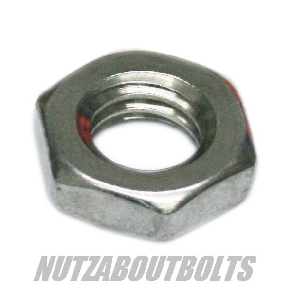 thin nut / lock nuts hexagon type b a2 stainless steel m3 / 4 / 5 / 6 / 8mm