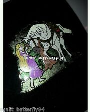 DISNEY TANGLED RAPUNZEL AND MAXIMUS LIMITED EDITION PIN SIZE 500 EUROPE UK