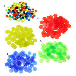 100-Stueck-Kunststoff-Zaehler-Chips-Bingo-Marker-Fuer-Mathematik-Oder-Spiele