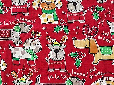 Sz Small Scrub Top Christmas Dog Puppy Print Nurse Medical Vet Uniform Tafford