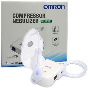 Omron-ne-c803-leise-Kompressor-Erwachsene-Kind-unteren-Atemwegen-Atemwegserkrankungen-Nebulizer-NEU