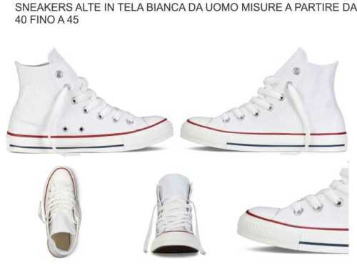 In Bianca 90 Tela Sneakers Boy qpdgvnw