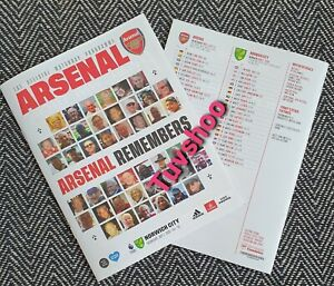 Arsenal-v-Norwich-BEHIND-CLOSED-DOOR-Programme-1-7-2020-READY-TO-DISPATCH