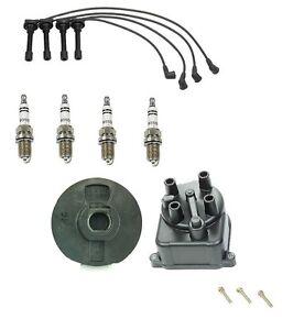Honda Civic 99 00 Ignition Kit Wire Set Spark Plugs Bosch