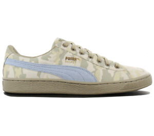 Details about Puma Basket Classic Camo Men's Sneaker Camouflage Shoes Canvas 364191 02 New