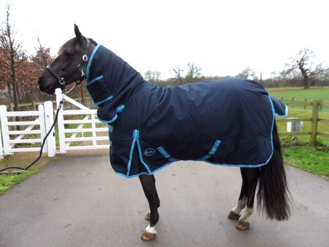 NEW Outdoor Heavy Weight  Combo 600 DENIER Turnout Show Rugs Winter 300 gsm