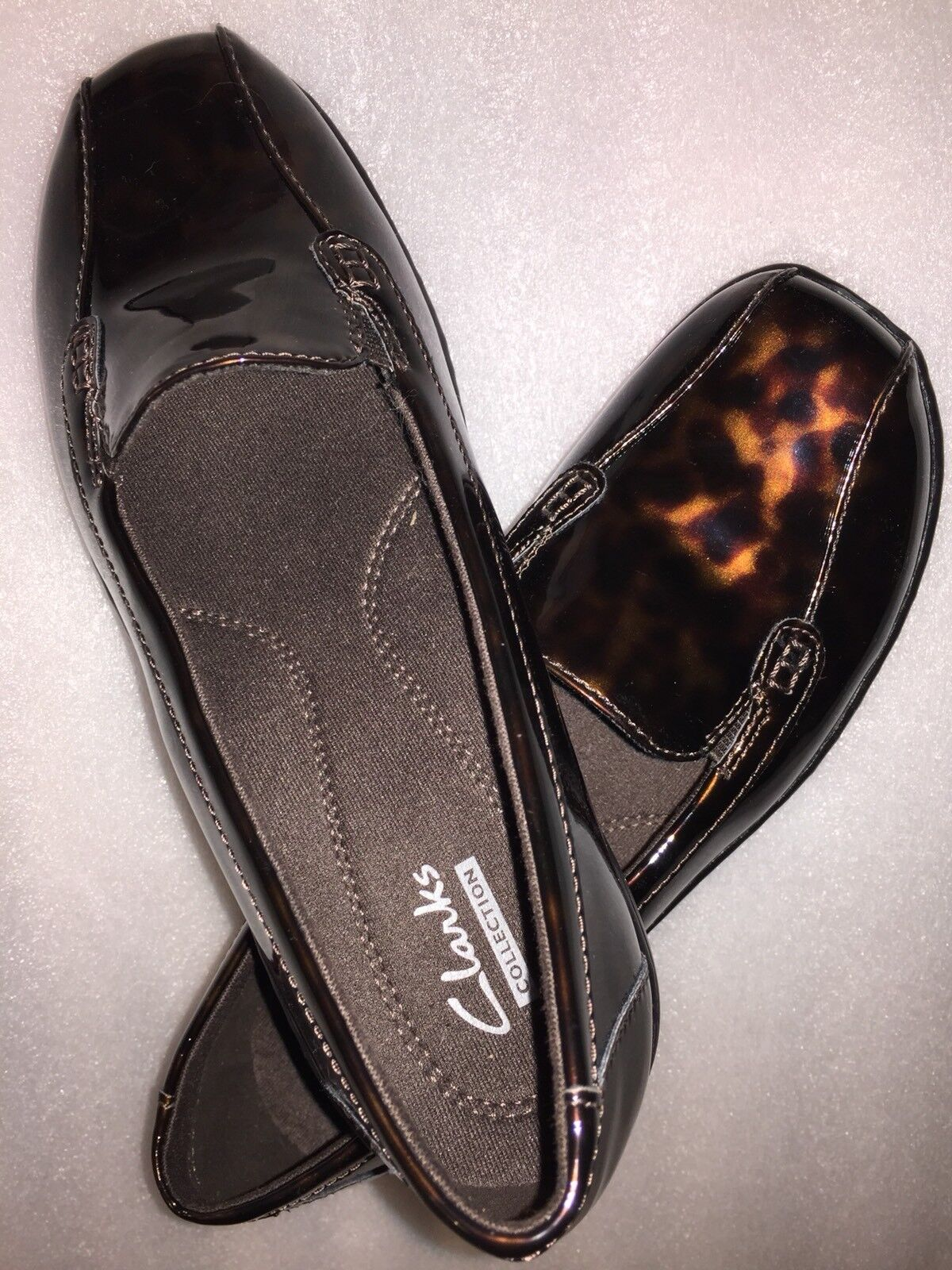 Clarks Bendables - Bayou Q Leather Croco Embossed Slip-on Slip-on Slip-on Loafers NEW Retail  80 4fd0df