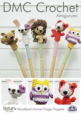 Wild Animal Finger Puppets | Creative Crochet Workshop | 400x283