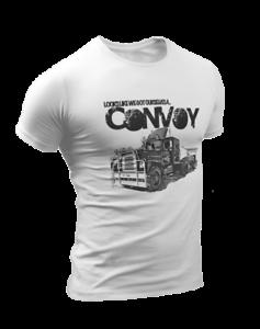 Trucking Trucker Tv Show Rd Mens Film Movie Convoy Birthday T Shirt