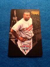 1996 Pinnacle Philadelphia All Star Fanfest Albert Belle Indians Playing Card
