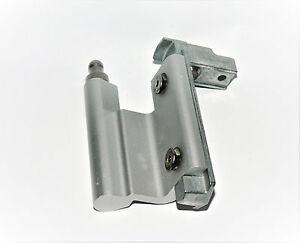 HUECK-Ecklager-Eckband-908972-DIN-Links-F1-Aluminium-natur-Neu