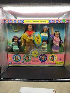 Vintage-1994-Native-American-Family-Dolls-Kid-Kore-No-1559