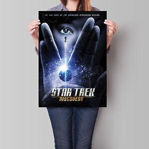 Image Is Loading Star Trek Discovery Poster TV Series 2017 Jason