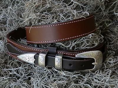 Chocolate Brown Custom Ranger Belt